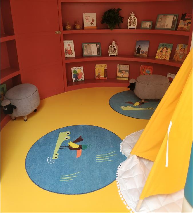 幼儿园pvc地胶板